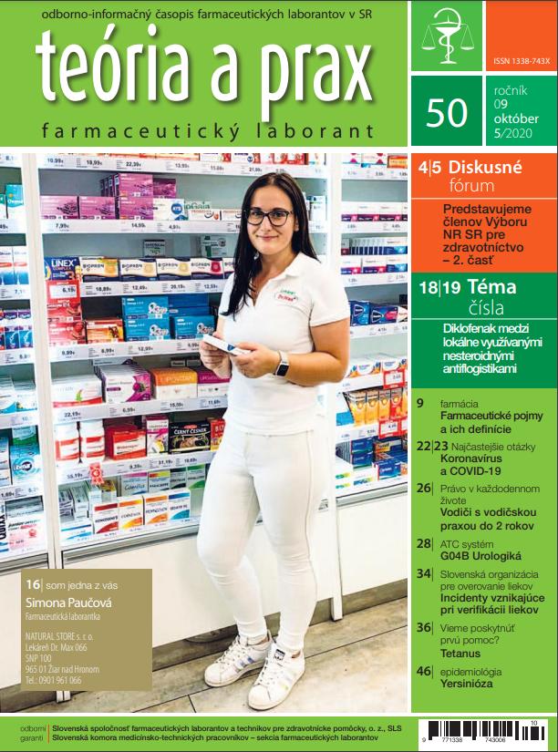 Teória a prax farmaceutický laborant 50/2020