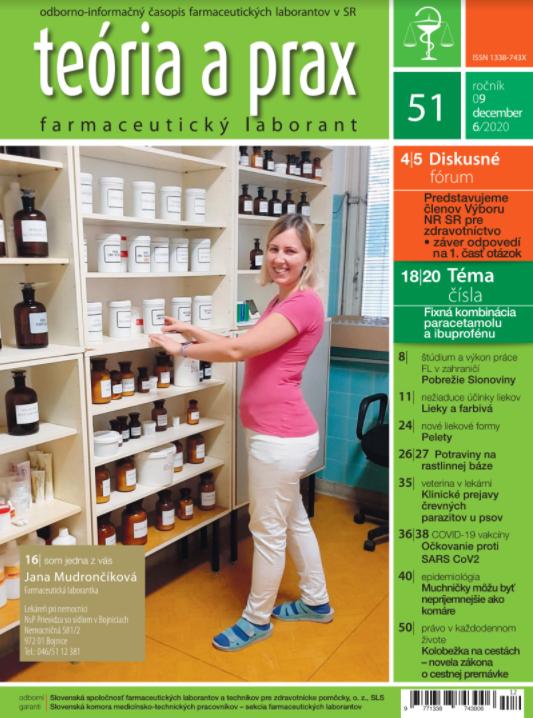 Teória a prax farmaceutický laborant 51/2020